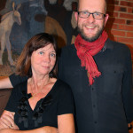Ylva Eggehorn & Per Rosenius. Foto: Christin Sagnér